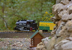 Coming around the Mountain.....Explored (l_dewitt) Tags: gscalegardentrain gscale gardentrain outdoortrain backyardtrainset