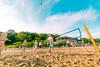 Labor Day Volleyball (VBuckley.com) Tags: bradfordbeach beach sand sun fun milwaukee laborday sky lakemichigan people crowd volleyball swimsuit bikini boardshorts smile joy ball coed game wideangle canon rokinon 14mm summer beachvolleyball sandvolleyball