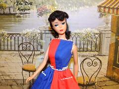 Vintage Black Hair Ponytail Barbie Doll (The doll keeper) Tags: vintage barbie ponytail fancy free dress 6th 6