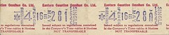 Eastern Counties Omnibus Co. Ltd. Bus Ticket (Ray's Photo Collection) Tags: scan scanned document bus buses travel ticket easterncounties omnibus co ltd