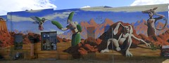 Tucson Mural (galiuros) Tags: mural tucsonarizona tucson borderlandsbrewery