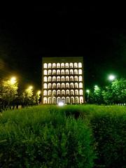 Palazzo della Civiltà Italiana, EUR, Rome, Italy. (Massimo Virgilio - Metapolitica) Tags: italy rome eur urban city art architecture