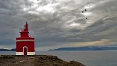 + Faros 70 (jburzuri) Tags: faro lighthouse farodepuntarobaleira cabohome cangasdemorrazo pontevedra galicia rocas mar acantolado islascies flickrunitedaward