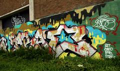 graffiti amsterdam (wojofoto) Tags: amsterdam graffiti streetart nederland netherland holland wojofoto wolfgangjosten farao