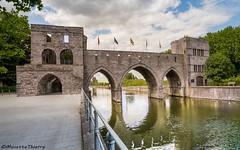 Le pont des trous àTournai (musette thierry) Tags: architecture tournai belgique belgium musette thierry nikon d600 flckr instagram 500px lescaut hainaut wallonie pont