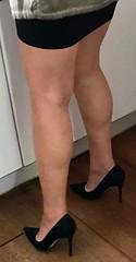MyLeggyLady (MyLeggyLady) Tags: sex ass teasing thighs hotwife cfm secretary milf miniskirt sexy pumps stiletto heels legs