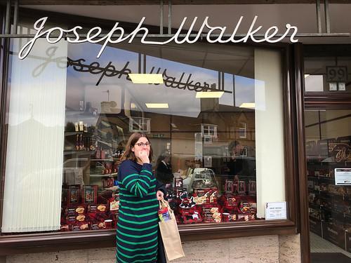 Sara @ the original Walker's Shortbread bakery