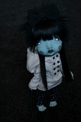 Humpt2 (Mientsje) Tags: humpty dumpty circus kane nefer artist bjd doll ball jointed yosd green cute gothic