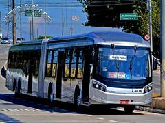 7 3876 VIP - Unidade Guarapiranga (busManíaCo) Tags: busmaníaco ônibus bus nikond3100 nikon d3100 caio millennium brt mercedesbenz o500uda bluetec 5 vip unidade guarapiranga