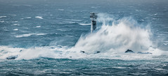 Storm Desmond, Longships Lighthouse, Land's End (Mick Blakey) Tags: lighthouse storm cornish rocky landsend trinityhouse rocks longshipslighthouse blue stormy roughsea waves seascape coastsurf cornwall sea coastal