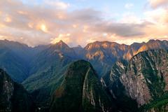 An Inca sunset - Machu Picchu (Maria_Globetrotter) Tags: peru dscf0607lr landscape
