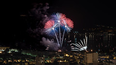 Feu d'artifice du 15 août (Janis-Br) Tags: feudartifice evement spectacle colors city light sea méditerranée fireworks summer ambiance holidays toulon var paca france nikond750