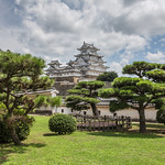 Clouds over Himeji Castle. thumbnail