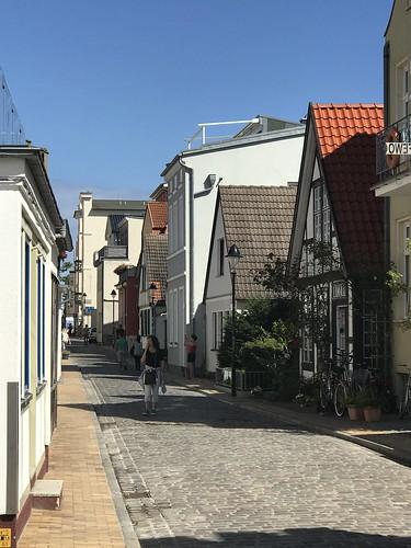 Rostock Gassen in Warnemuende