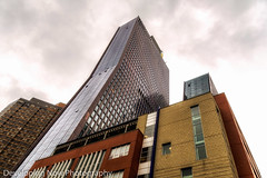 American Copper Buildings (nywheels) Tags: copperbuildings nyc newyorkcity gothamcity bigapple thebigapple manhattan nikon sky clouds buildings