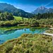 The well of river Sava in Julian Alps