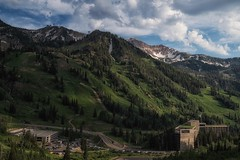 just reminiscing... (Alvin Harp) Tags: snowbird alta thecliffslodge littlecottonwoodcanyon skiresort tram hotel mountainslope vacation july 2017 utah beautifulclouds sonyilce9 fe2470mmf28gm alvinharp