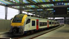 08099 (Krzysztof D.) Tags: kolej bahn railway pociąg train zug intercity belgia belgium belgique belgië europa europe dworzec station stacja bahnhof ostenda oostende ostende