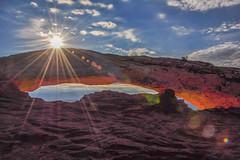 Mesa Arch (brendabrand467) Tags: mesaarch utah arch morning sunburst redrock beautiful landscape