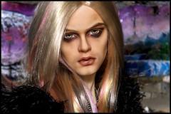 Ashe Purple (Lachlana Light) Tags: balljointdolls bjd customdoll faceup lachlana unitedstates lltneil