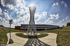 Fermilab - 50th Anniversary Open House - Tractricious (Rick Drew - 18 million views!) Tags: fermi fermilab batavia il illinois canon 5dmkiii subatomic international physics science education doe energy fermilab50 cryostat tevatron tractricious art sculpture