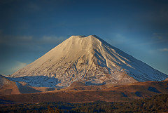 Mount Ngauruhoe (stoelting.chris) Tags: mount ngauruhoe mt doom lord rings new zealand north island snow mountain tongariro national park volcano lava fields tephra stratovolcano composite cone active