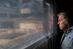 1673 (explored) (.niraw) Tags: stuttgart stuttgart21 s21 strasenfotografie hauptbahnhof tunnel mann nachdenklich baustelle fenster ausblick hemd niraw baugrube spiegelung