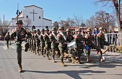 Acto Cívico Militar por el natalicio de Bernardo O´higgins