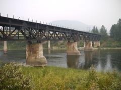 Milwaukee Road Clark Fork Bridge (John Csoka) Tags: milwaukeeroad bridge stregis montana clarkfork rockymountaindivision pacificextension