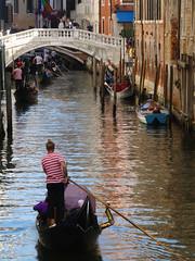 Rio de Palazzo (dmvcomics) Tags: italy venice venezia canal gondolier