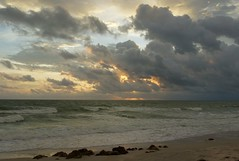 IMG_1360_Harvey is somewhere out there. (lada/photo) Tags: weather clouds sunset ladaphoto gulfofmexico seascape