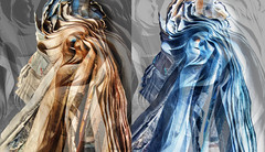 autumn and winter are coming (marianna_a.) Tags: paper newspaper layers sheets wind autumn warm cold winter pa173658 mariannaarmata abstract diptych