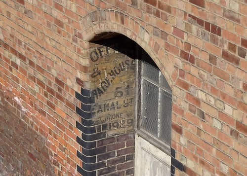 51 Canal St. Ghost Sign, Nottingham
