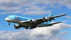 HL7615 Airbus A380-861 Korean Air (R.K.C. Photography) Tags: hl7615 airbus a380 a380861 koreanair ke kal aircraft airliners london england londonheathrowairport unitedkingdom uk hattoncross myrtleavenue lhr egll canoneos100d