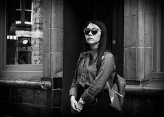 Proper Defiant (XBeauPhoto) Tags: fujixt10 london xavbeaumont blackwhite candid diffidence japanese monochromatic portrait pub publichouse soho street streetphotography urban