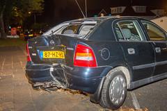 04092017-2776 (Sander Smit / Smit Fotografie) Tags: westersingel appingedam auto boom lantaarnpaal ongeluk ongeval eenzijdig politie ambulance