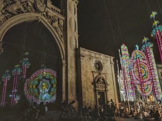 T R A D I T I O N. P o s t c a r d [ 1 ]. St. Oronzo's festivity. L e c c e   -   2 6 / 0 8 / 2 0 1 7