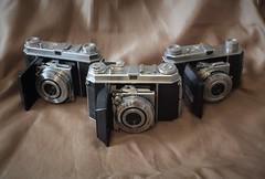 'The Possey!' Trio of US Kodak Ektar lensed Retina Cameras (TempusVolat) Tags: kodak retina 010 013 015 ia vintage 35mm film garethwonfor tempusvolat mrmorodo gareth wonfor tempus volat