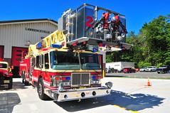 Lawrenceville Fire Company Ladder Tower 23 (Triborough) Tags: nj newjersey mercercounty lawrencetownship lawrenceville lfc lawrencevillefirecompany firetruck fireengine ladder tower towerladder ladder23 tower23 towerladder23 laddertower23 simon duplex simonduplex lti