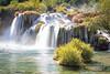 Krka's Main Waterfall