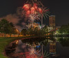 Down town Fireworks (_patclancy56) Tags: fireworks tulsa longexposure