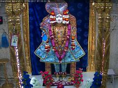 Ghanshyam Maharaj Sandhya Darshan on Sun 10 Sep 2017 (bhujmandir) Tags: ghanshyam maharaj swaminarayan dev hari bhagvan bhagwan bhuj mandir temple daily darshan swami narayan sandhya