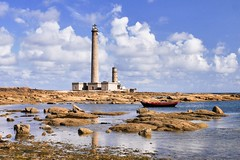 Lighthouse in France (PHOTOPHOB) Tags: france landscape normandie landschaft frankreich lighthouse photophob phare faro dmcg6 g6