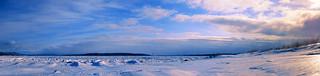 Baie de Beauport sous la glace