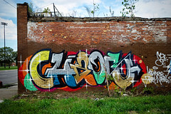 Chaos (piecesofdetroit) Tags: detroitgraffiti detroit graffiti street art streetart graffitiart graffitiwriters motorcity piecesofdetroit germanfriday friday leicat killthematador thegermanfriday chaosmsk angelswillrise chaos madsocietykings