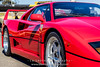 Red-Ferrari-F40-sports-car-in-sydney-by-la-lente-photography-front-angle (Paul D'Ambra - Australia) Tags: car red ferrari sportscar redsportscar redferrari vehicle motorvehicle redf40
