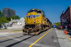 UP at Augusta, GA. (i nikon) Tags: union pacific up augusta ga street running