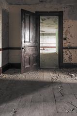 •When one door closes, another opens. (2016) 🚪 (hgxphoto) Tags: urbandecay urbanexplorer urbanexploration urbex abandoned decay asylum psychiatric hospital
