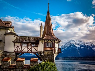Oberhofen castle - Water tower
