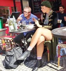 2017-09-21  Paris - La Grille Montorgueil - 50 rue Montorgueil (P.K. - Paris) Tags: people candid street café terrasse terrace
